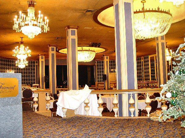 Fairmont Hotel New Orleans Blue Room